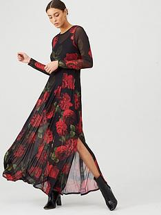 v-by-very-mesh-long-sleeve-maxi-dress-floral