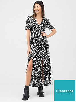v-by-very-animal-casual-midaxi-dress-spot-print