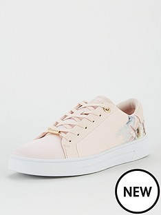 ted-baker-lylas-woodland-cupsole-trainer-pale-pinknbsp