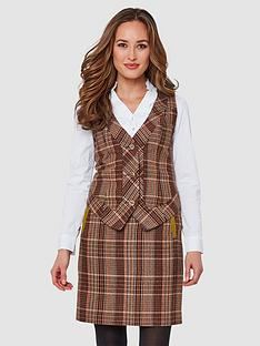 joe-browns-country-check-waistcoat-multi