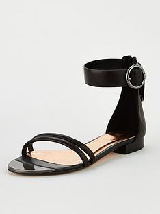 ted-baker-keltra-flat-strappy-sandal-blacknbsp