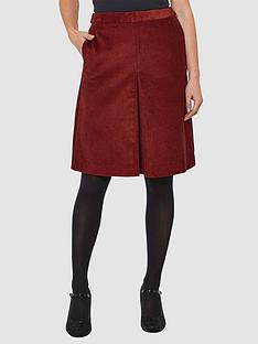 joe-browns-retro-cord-skirt-rust