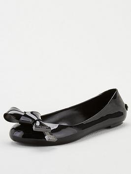 ted-baker-mahlin-origami-bow-pump-black