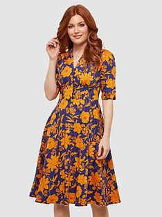 joe-browns-golden-florals-dress-print