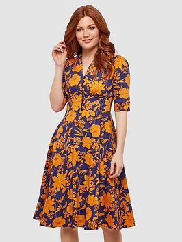 joe-browns-golden-florals-dress-print