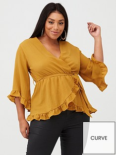 ax-paris-curve-wrap-floaty-top-mustard