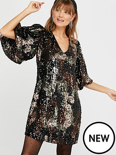 monsoon-carmen-camo-sequin-short-dress