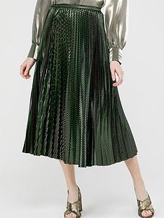 monsoon-ivy-pleated-skirt-green