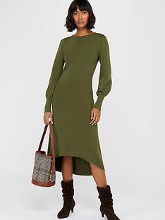monsoon-lindie-elliptical-hem-dress-khaki