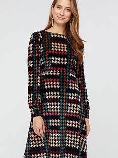 monsoon-monsoon-harriet-houndstooth-printed-velvet-dress