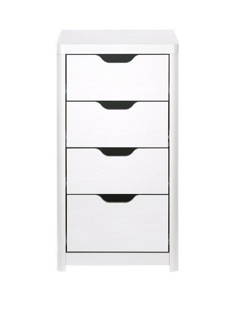 aspen-slim-4-drawer-chest-white-oak-effect