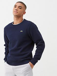 lacoste-sports-classic-sweatshirt-navy