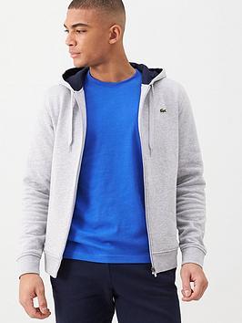 lacoste-sports-classic-zip-through-hoodie-grey