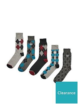 burton-menswear-london-burton-5-pack-argyle-socks