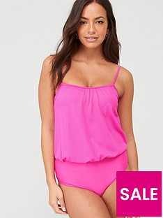 v-by-very-blouson-swimsuit-bright-pink