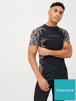 river-island-feather-print-tee