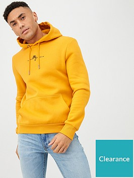 river-island-yellow-maison-riviera-slim-fit-hoodie