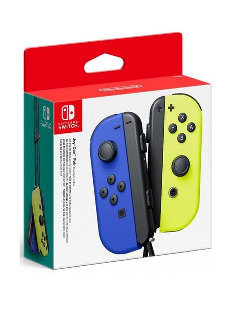 nintendo-switch-joy-con-twin-pack-blue-neon-yellow