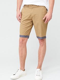 v-by-very-chino-chambray-roll-shorts-tan