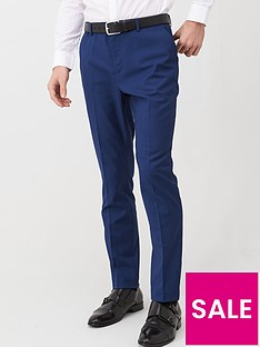 very-man-slim-suit-trousersnbsp--blue