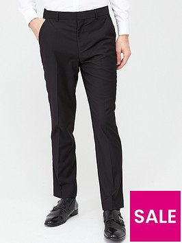 very-man-stretchnbspregular-suit-trousers-black