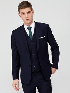 v-by-very-stretch-slim-suit-jacket-navy