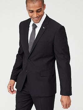 very-man-stretch-slimnbspsuit-jacket-black
