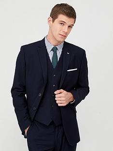 v-by-very-stretch-regular-suit-jacket-navy
