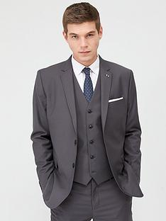 very-man-stretch-regular-suit-jacket-grey