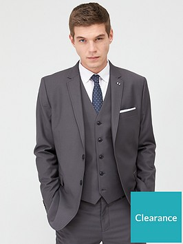 very-man-stretch-regular-suit-jacket-grey