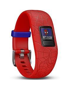 garmin-vivofit-jr-2-marvel-spider-man-fitness-activity-tracker-for-kids-adjustable-band-red