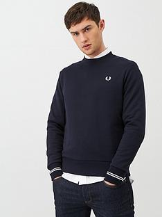 fred-perry-crew-neck-sweatshirt-navy