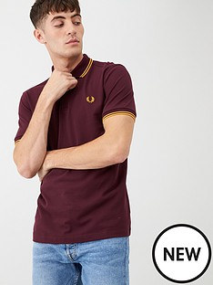 fred-perry-twin-tipped-fred-perry-polo-shirt-maroon
