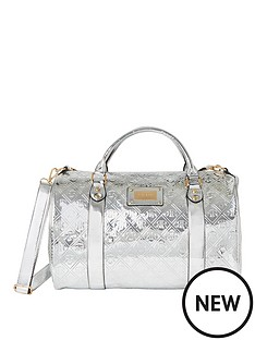 river-island-metallic-duffle-bag