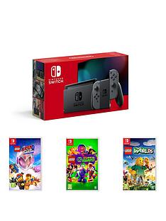 nintendo-switch-nintendo-switch-console-improved-battery-with-lego-movie-2-lego-dc-super-villains-and-lego-worlds