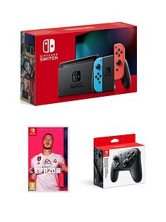 nintendo-switch-nintendo-switch-console-improved-battery-with-fifa-20-legacy-edition-and-official-pro-controller