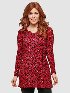 joe-browns-funky-trim-tunic-redblacknbsp
