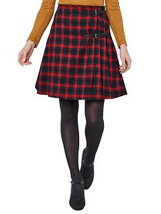 joe-browns-funky-punk-check-skirt-red-black
