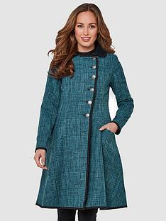 joe-browns-amazing-reversible-coat-tealblacknbsp
