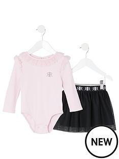 river-island-mini-mini-girls-frill-bodysuit-and-tutu-set-pink