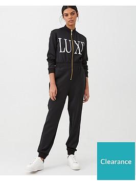 river-island-river-island-luxe-zip-through-jumpsuit-black