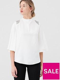river-island-river-island-cape-embellished-blouse-white