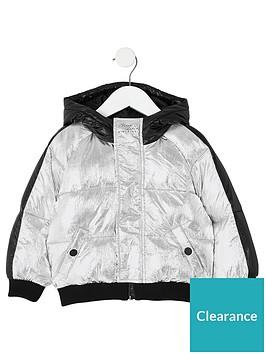 river-island-mini-mini-boys-hooded-padded-jacket-silver