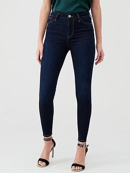 river-island-river-island-hailey-high-rise-skinny-jeans-dark-blue