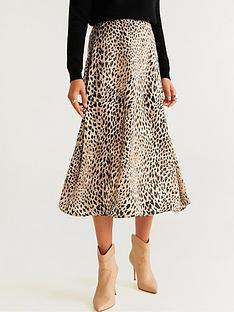 mango-animal-print-midi-skirt-light-brown