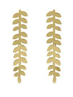 sara-miller-18ct-gold-plated-leaf-stem-drop-earrings