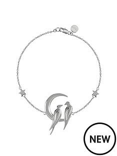 sara-miller-sara-miller-silver-plated-crescent-moon-love-birds-bracelet