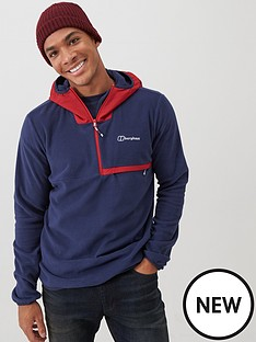 berghaus-aslam-hooded-fleece-top-navy