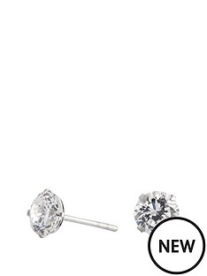 simply-silver-simply-silver-sterling-silver-6mm-round-brilliant-cubic-zirconia-studs