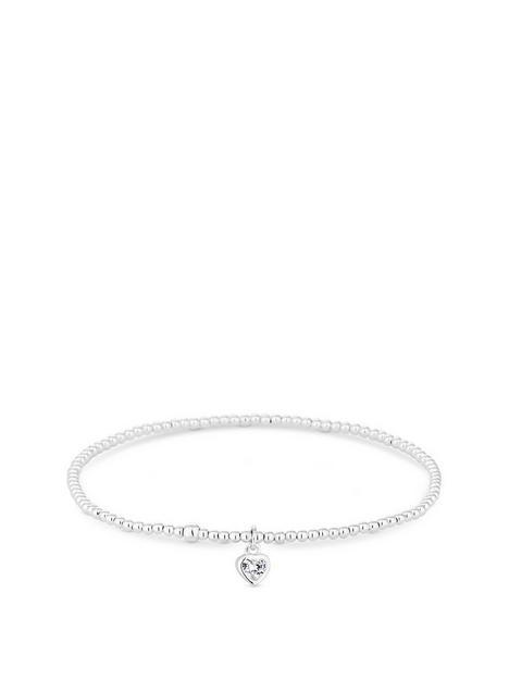 simply-silver-heart-stretch-bracelet